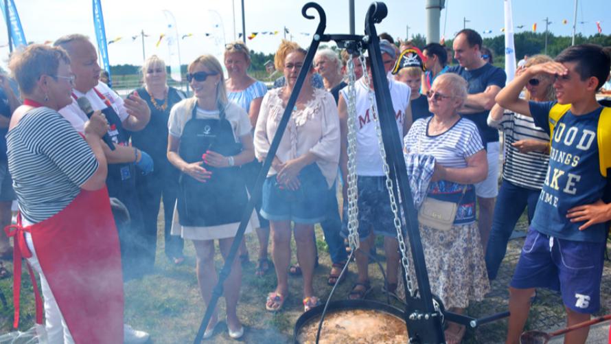 Festiwal Smaczna Ryba w Dźwirzynie